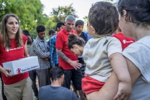 Vueling partners with Save the Children to help refugee children